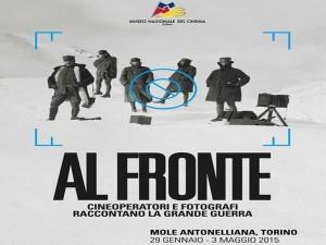 Al Fronte, la fotografia e il cinema di guerra