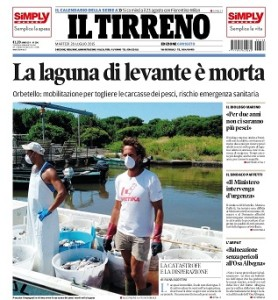Orbetello, morte di una laguna