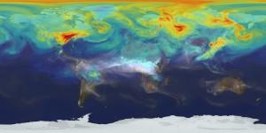 CO2, il modello della Nasa