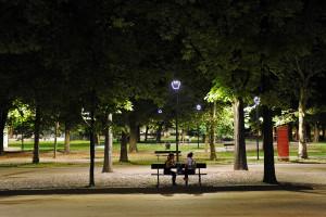 TORINO A LED - NELLA FOTO PARCO RUFFINI - FOTO SIMONE VITTONETTO