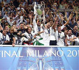 Sport: IL REAL VINCE LA CHAMPIONS AI RIGORI, ATLETICO KO
