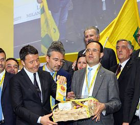 """Lombardia: RENZI """"REGIONE LOMBARDIA-STATO INSIEME PER CENTRALE BIOGAS"""""""