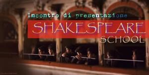 Shakespeare School, per trovare la propria voce