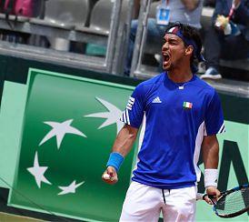 Sport: NIENTE SEMIFINALE DI DAVIS PER GLI AZZURRI DEL TENNIS