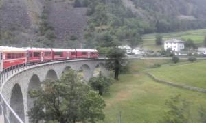 Diario di Viaggio | Sul treno del Bernina