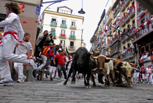 Tori a Pamplona, tra folclore e proteste