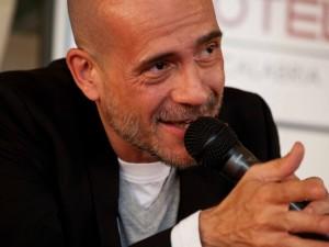 Sul palco con Gianmarco Tognazzi