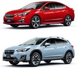 Subaru: A SUBARU XV E IMPREZA IL GRAND PRIX AWARD DI JNCAP