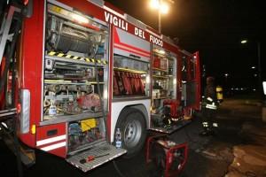 Incendio a Pianezza, rientra l'allarme ambientale