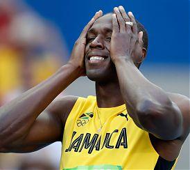 Sport: EPILOGO MONDIALE AMARO PER SUA MAESTA' USAIN BOLT