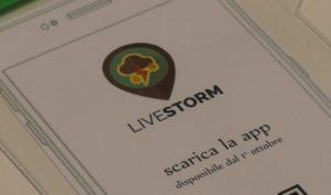 LiveStorm, l'app che informa sui temporali