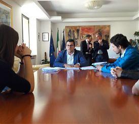 Regione Basilicata: VIS, PIETRANTUONO INCONTRA STUDENTI