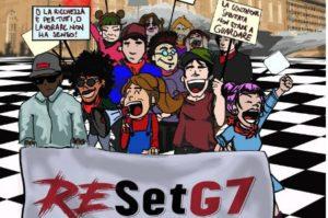 ReSet G7, manifestazione a Torino