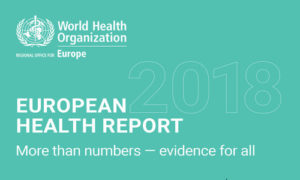I dati dell' European Health Report 2018
