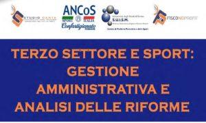 Terzo Settore e sport a convegno il 26 febbraio