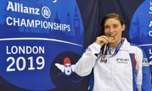 Carlotta Gilli, il nuoto piemontese è d'oro