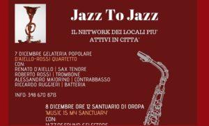 Jazz to Jazz, il programma di dicembre