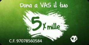 """Dona il tuo 5 per mille per consentire a VAS di riprendere la """"Campagna Bastamianto"""""""