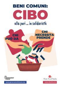 Il cibo bene comune: iniziativa lanciata dal Comitato Popolare Difesa Beni Pubblici e Comuni Stefano Rodotà e Slow Food Italia