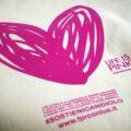 """""""Life is Pink"""", un cuore rosa per la prevenzione"""