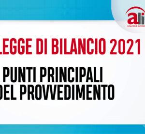LEGGE DI BILANCIO 2021: le misure in ambito sociosanitario e sociale
