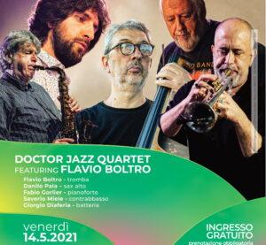 I suoni della Piazza – Doctor Jazz Quartet featuring Flavio Boltro Maggio 14, 2021 @ 20:00 – 21:30